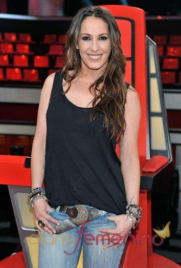 La cantante Malú repite como coach de 'La Voz'