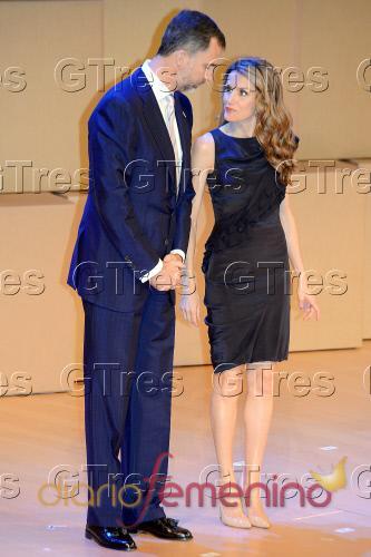 El look de Letizia en la entrega de Premios Fundación Príncipe de Girona