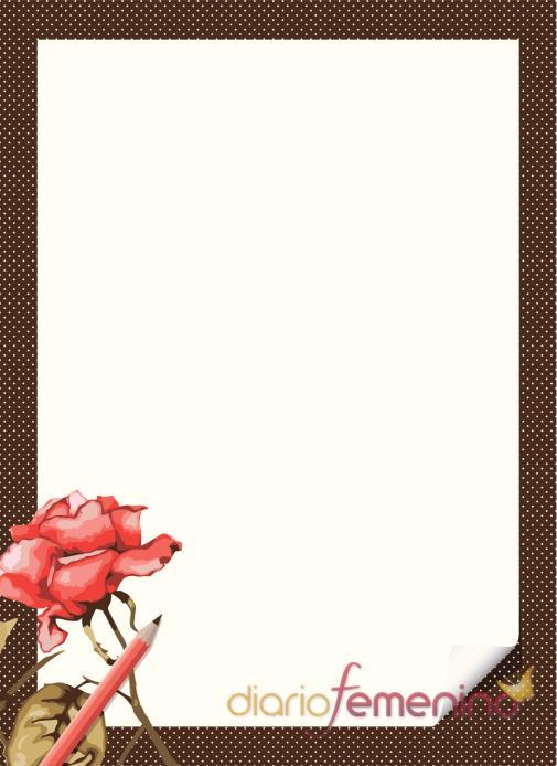 Carta de amor con rosa incluida: díselo con una flor - Cartas de ...