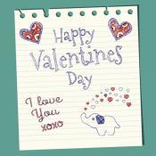 Carta de amor para San Valentín