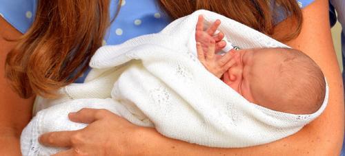 Presentación del bebé real de los duques de Cambridge