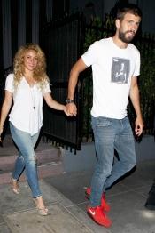 Shakira y Piqué han dejado a Milan y se han ido de cena romántica