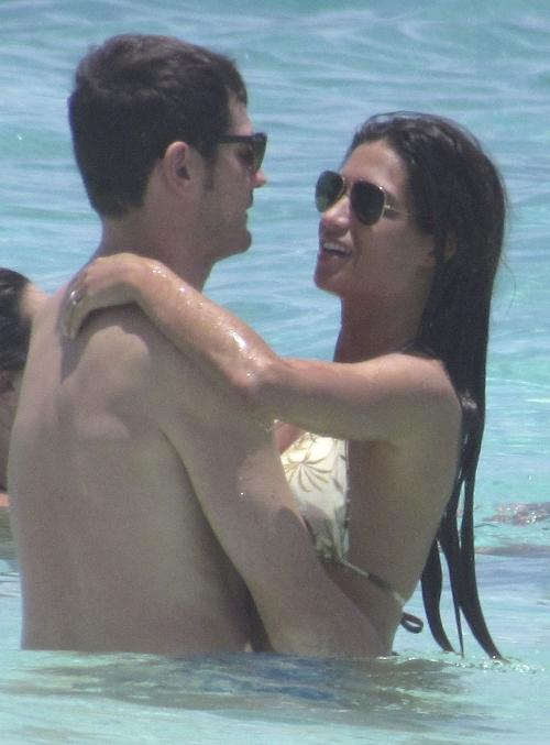 La pareja, Iker Casillas y Sara Carbonero, disfrutando de unas merecidas vacaciones en el Caribe