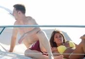 Antonella Roccuzzo y Leo Messi han disfrutado del sol en Ibiza