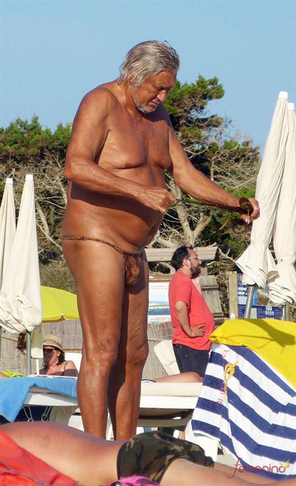 Marc Ostarcevic: en tanga y a lo loco