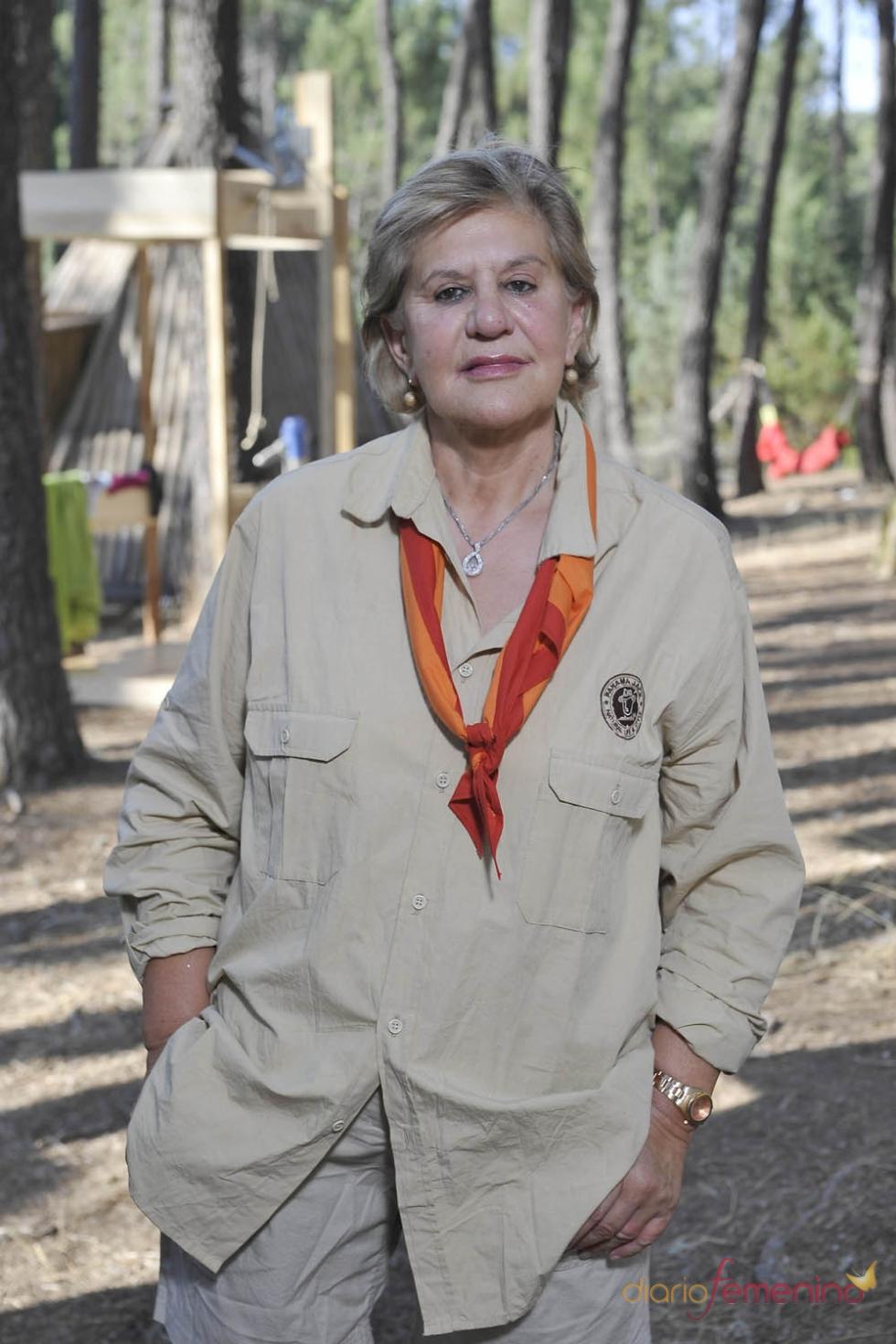 Carmen Bazán no ha querido perderse Campamento de verano de Telecinco