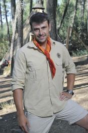 El guapo Montalvo también está en Campamento de Verano de Telecinco