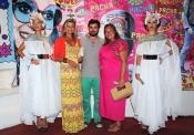 Caritina Goyanes y Cari Lapique en la fiesta Flower Power 2013 de Ibiza