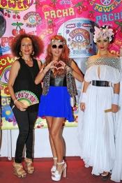 Paulina Rubio, la estrella de la fiesta Flower Power 2013 de Ibiza