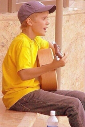 Justin Bieber era una estrella desde que era pequeño