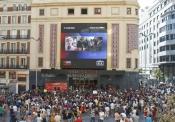 Los One Direction en su pre estreno de This is Us en España