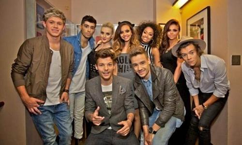 Los One Direction de Zayn Malik y las Little Mix de Perrie Edwards