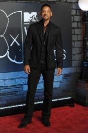 Will Smith en la alfombra roja de los MTV VMA 2013