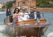 Sandra Bullock y George Clooney juntos en el Festiva del Venecia 2013