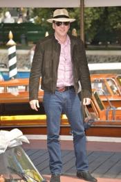 Nicolas Cage a su llegada al Festival de Venecia 2013