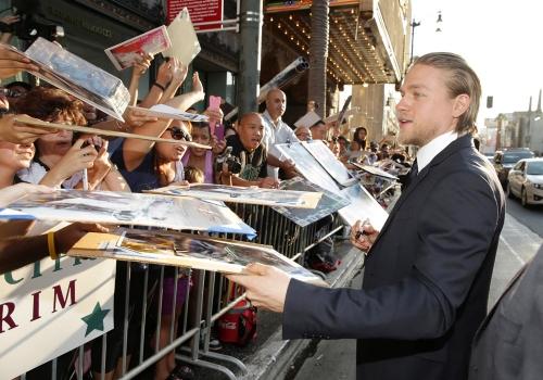 50 Sombras de Grey: el nuevo Christian, Charlie Hunnam, muy querido por los fans