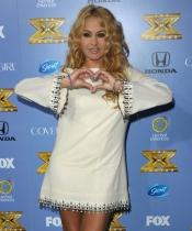 Paulina Rubio en la premier la tercera temporada de Factor X