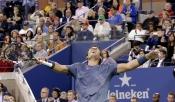 Rafa Nadal celebra su victoria en el US Open 2013