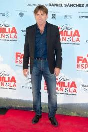 Antonio de la Torre en la presentación de 'La Gran Familia Española'