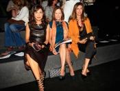 Toni Acosta, Ana García Siñeriz y Natalia Figueroa en la Madrid Fashion Week