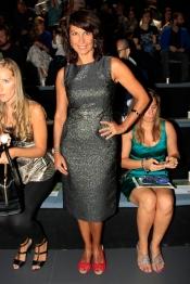 Cristina Higueras también estuvo presente en la Madrid Fashion Week