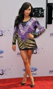 Naya Rivera en los BET Awards