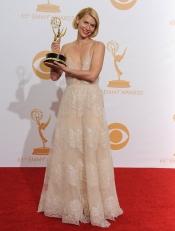 Claire Danes, Emmy a la mejor actriz principal de drama por Homeland