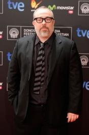 Álex de la Iglesia en la gala del Festival de Cine de San Sebastián 2013