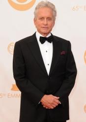 Michael Douglas en la alfombra roja de los Emmy 2013