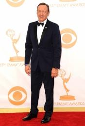 Kevin Spacey en la alfombra roja de los Emmy 2013