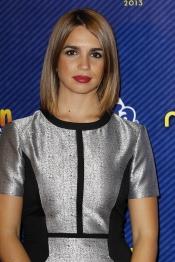La actriz Elena Furiase en la gala de los Neox Fan Awards 2013