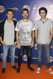 El grupo de música Pignoise en Neox Fan Awards 2013