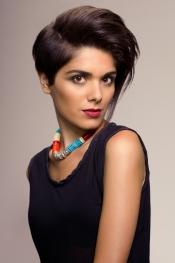El pelo corto es propicio para los peinados más modernos y atrevidos