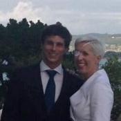 Foto de la boda de María de Villota la ex piloto de Fórmula 1 con su novio Rodrigo