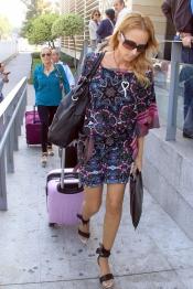 La modelo Sandra Ibarra acompaña ya a la familia de María de Villota