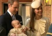 Bautizo del Príncipe Jorge: Kate Middleton y el Príncipe Guillermo