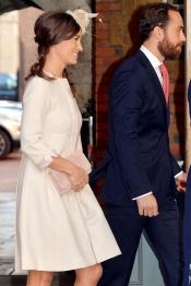 Pippa Middleton, en el bautizo del Príncipe Jorge de Inglaterra