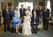 Foto de familia, protagonizada por Kate Middleton, del bautizo del Príncipe Jorge