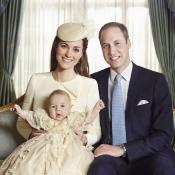 Kate Middleton y el Príncipe Guillermo, orgullo de padres en el bautizo de su hijo