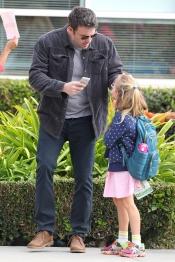 Ben Affleck compatibiliza el cine con las labores de padre
