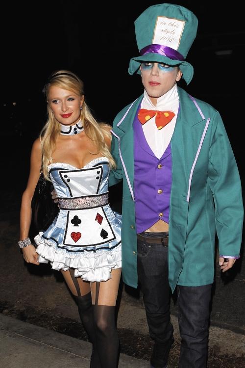 Paris Hilton y su novio River Viiperi, disfrazados para Halloween