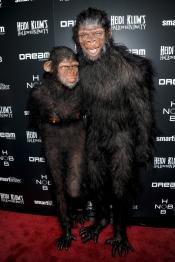 Heidi Klum y su marido Seal, disfrazados para Halloween