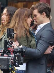 Fotos del rodaje de '50 sombras de Grey': Christian Grey y Anastasia Steele cobran vida