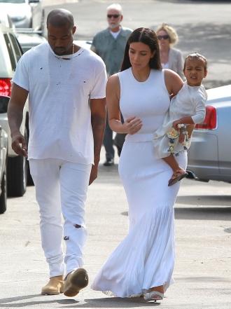 Kim Kardashian, Kylie Jenner y Kanye West, Pascua en familia
