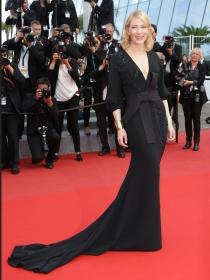 Las celebrities apuestan por la elegancia de los vestidos negros