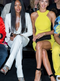 Versace, París y las mejores modelos del mundo