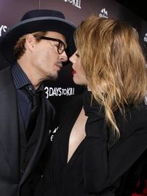 Amber Heard y Johnny Depp, amor y pasión tras las cámaras