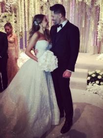 Así fue la boda de Sofía Vergara: vestido, fiesta y Colombia