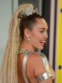 Miley Cyrus, el provocativo look de la ex chica Disney