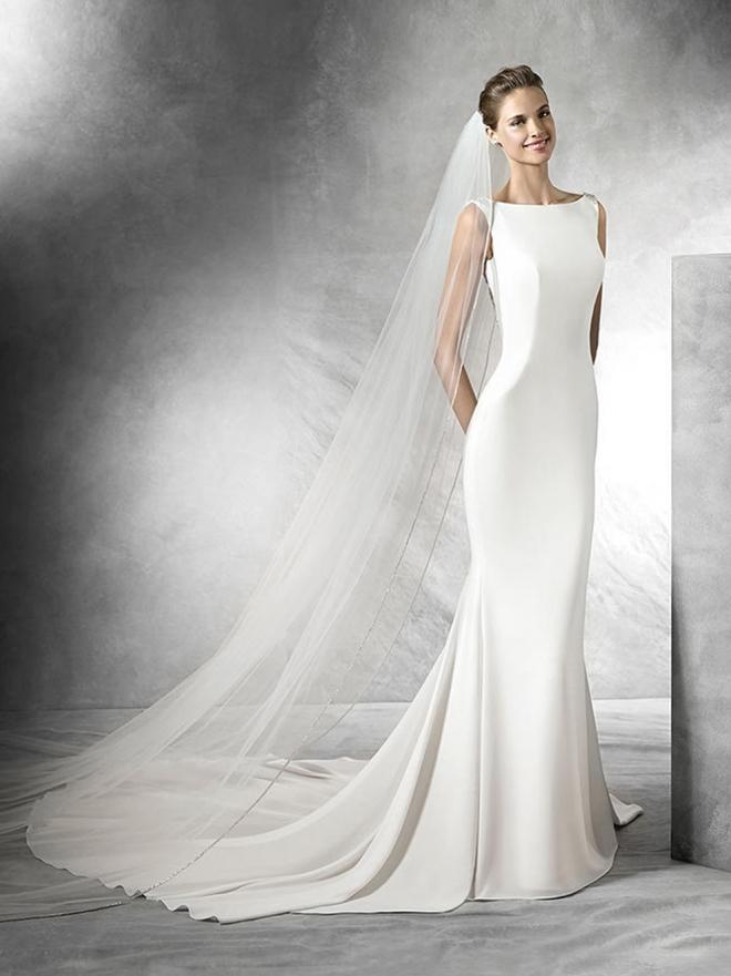 que vestidos de novia se llevan